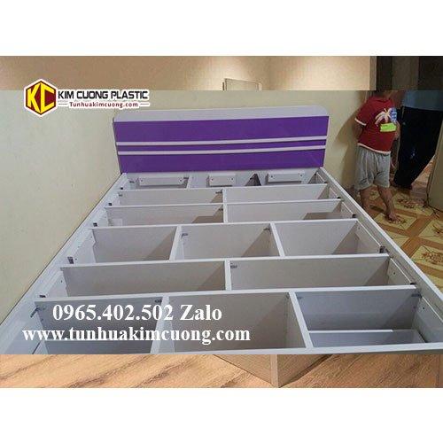 Giường nhựa đài loan 1M6