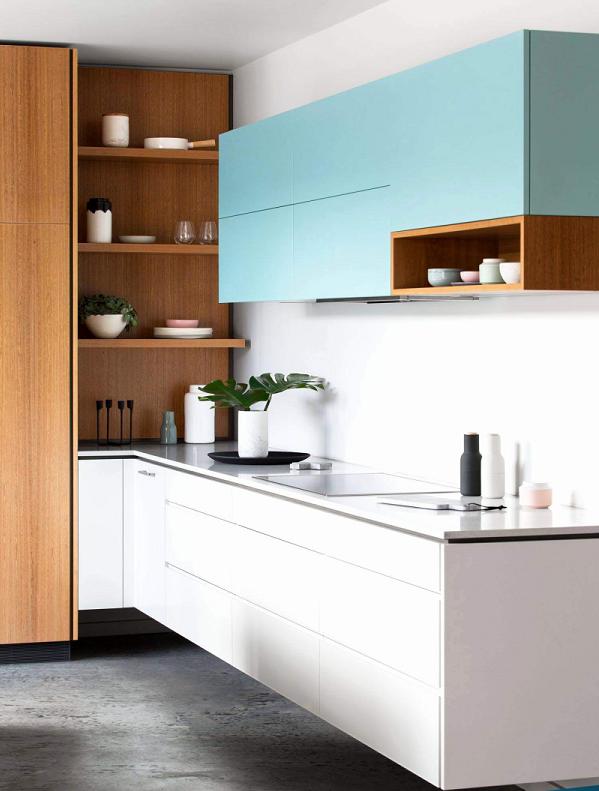 Tủ bếp Picomat sở hữu vẻ đẹp sang trọng, hiện đại