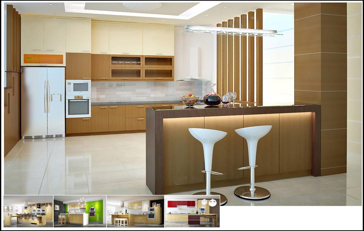 Nếu gia đình bạn dự định sẽ dành ra mức ngân sách lớn cho quá trình đóng mẫu tủ bếp thì nên chọn tủ bếp phủ Laminate
