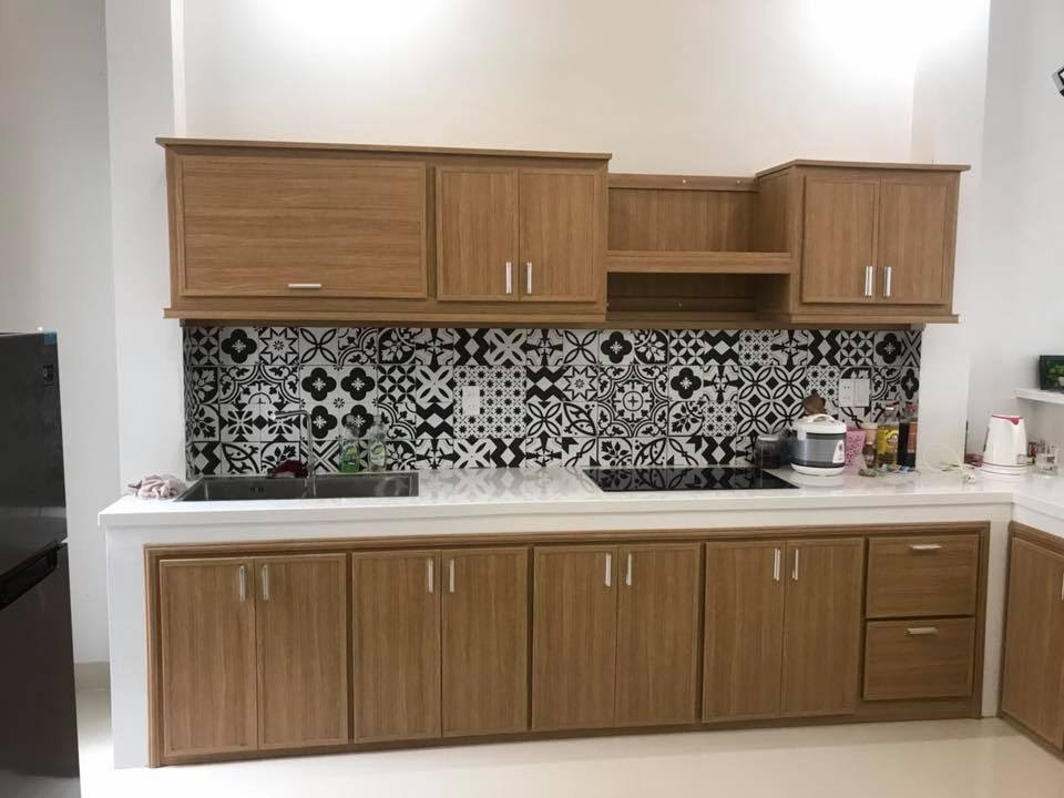 Tủ bếp bằng nhựa Đài Loan có tuổi thọ cao lên tới 50 năm